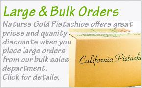Bulk Pistachio Orders